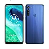 "Billede af Motorola Moto G8 (6,4 ""HD + zero-notch display, Qualcomm Snapdragon SD665, 16MP hovedkamera, 2MP makro kamera, 4000 mAH batteri, Dual SIM, 4 / 64GB, Android 10, Neon Blue, Neue Blue, a_NA"