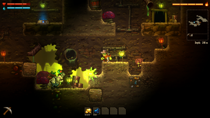SteamWorld Dig screenshot02