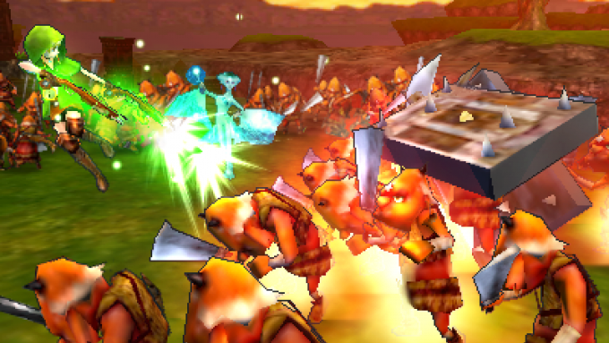مراجعة Hyrule Warriors Legends