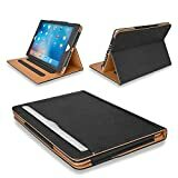 "Immagine di MOFRED® Black & Tan Apple iPad 9.7 pollici 5a / 6a generazione Custodia Executive in pelle - Votata da ""The Daily Telegraph"" come custodia per iPad numero 1! (Modelli iPad A1822, A1823, A1893, A1954)"