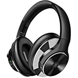Immagine di OneOdio Noise Cancelling Cuffie Bluetooth Over Ear Wireless con 40 ore di riproduzione Hi-Fi Sound Deep Bass Super Soft Earpad CVC 8.0 Chiamata wireless, ricarica rapida per viaggi TV Mobile Telefono PC