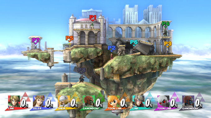Capture d'écran de Super Smash Bros Wii U03