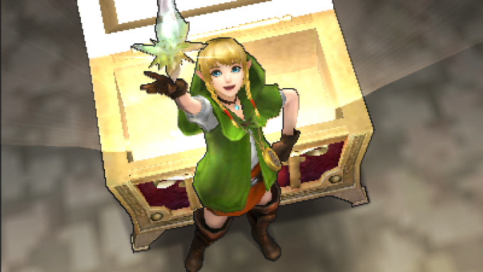 """Hyrule Warriors Legends Linkle"" lobis"