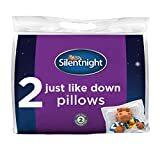 Billede af Silentnight Just Like Down Pillow Pack of 2 - Hotel Bed Sleep Pillows Cuddle Support Pillow Pair - Machine Washable Soft Comfy Pillows