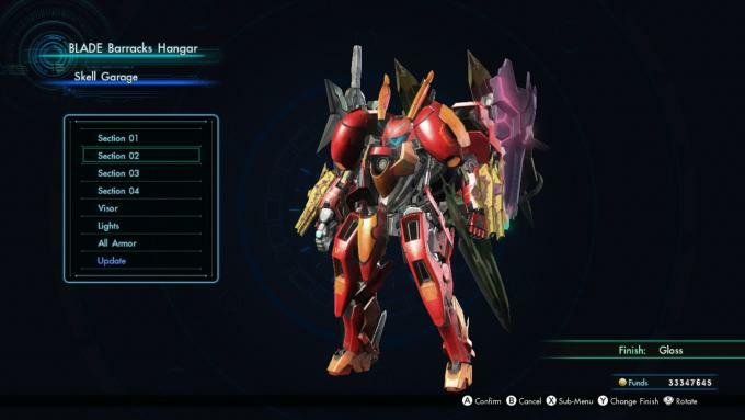 Xenoblade Chronicles X skärmdump Skell